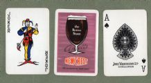 Vintage Beer Advertising  playing cards NewCrest Beer by Ansells